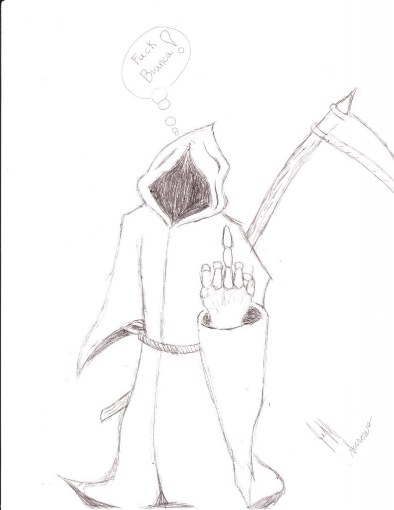 791x1024 How To Draw Grim Reaper Drawn Cartoon Grim Reaper
