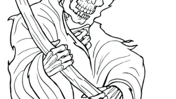 570x320 How To Draw The Grim Reaper As Well As Grim Reaper Drawing Grim