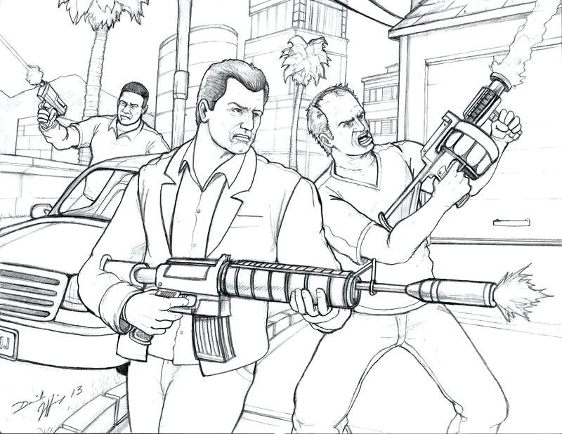 Gta V Drawing