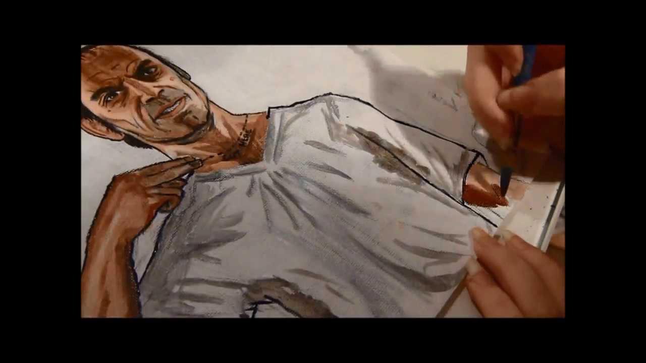 1280x720 Gta V Drawing Trevor Phillips