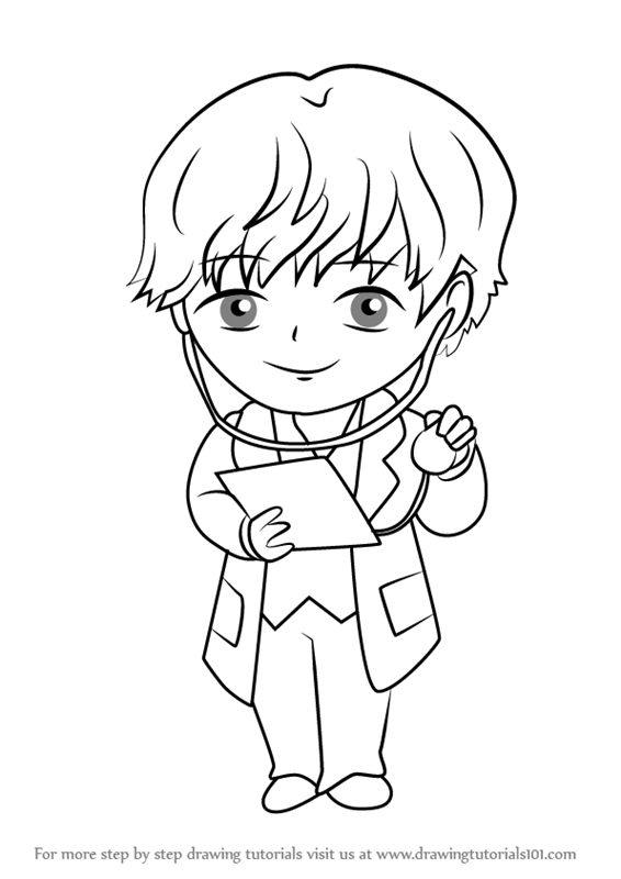 566x800 Learn How To Draw Doctor Guest From Mystic Messenger (Mystic