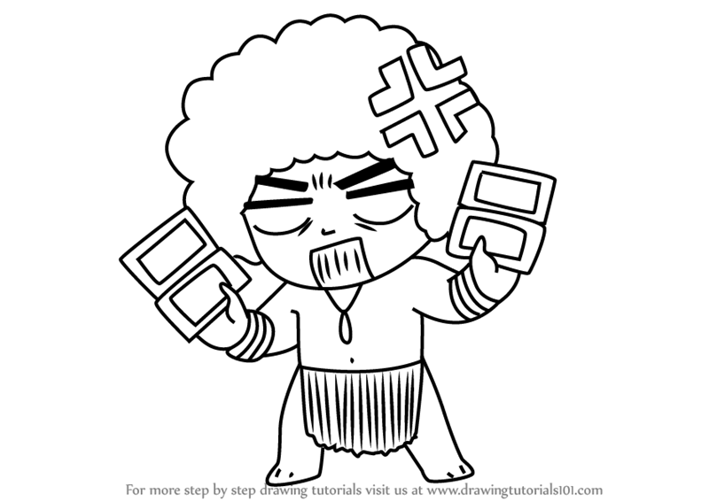800x567 Learn How To Draw Tetris Guest From Mystic Messenger (Mystic