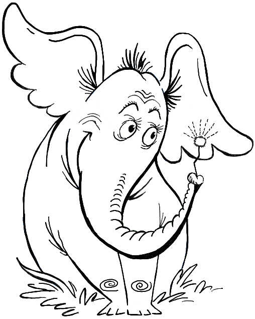 508x635 How To Draw Horton Hears A Who From Dr. Seuss' Book In Easy Steps