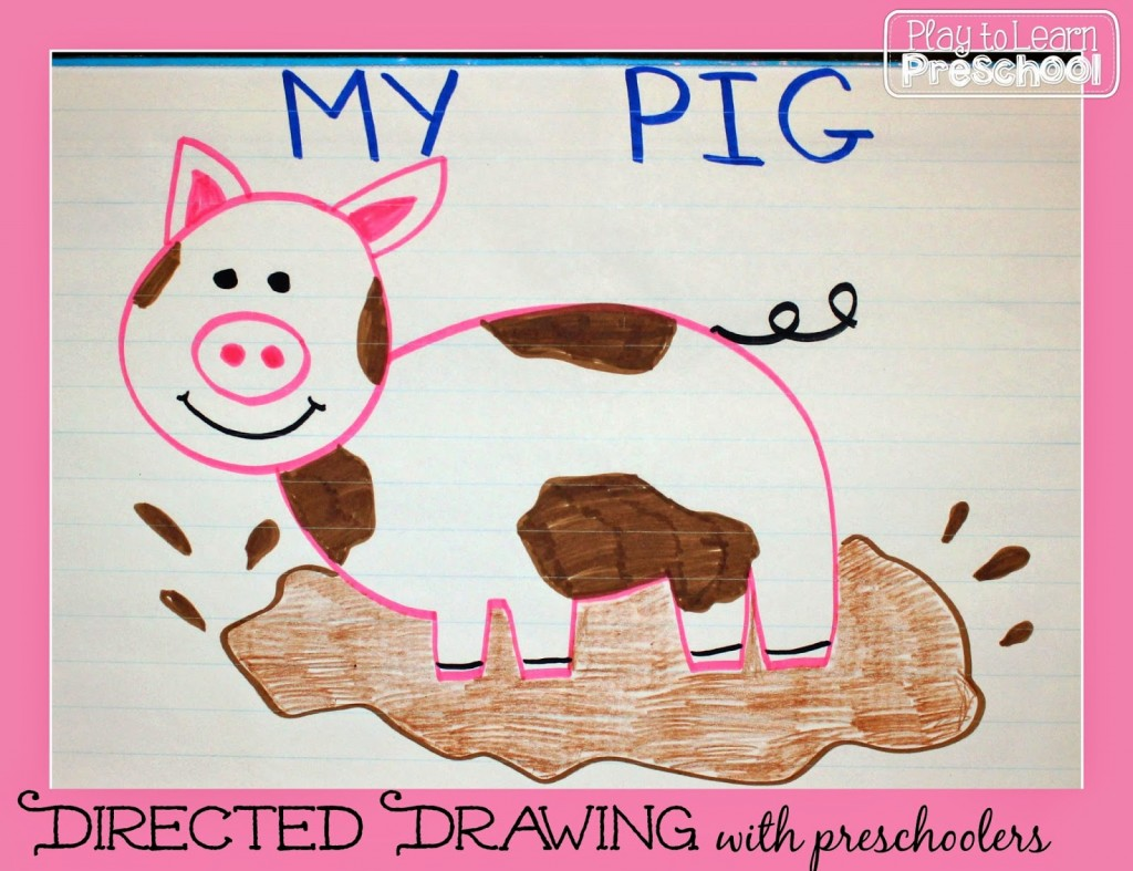 1024x787 Directed Drawing Lesson