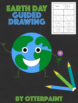 265x350 Earth Day Directed Drawing By Otterpaint Teachers Pay Teachers