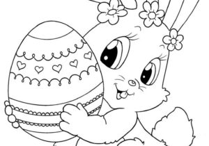 300x210 44 Nice Photos Of Easter Bunny Drawing Drawing Ideas