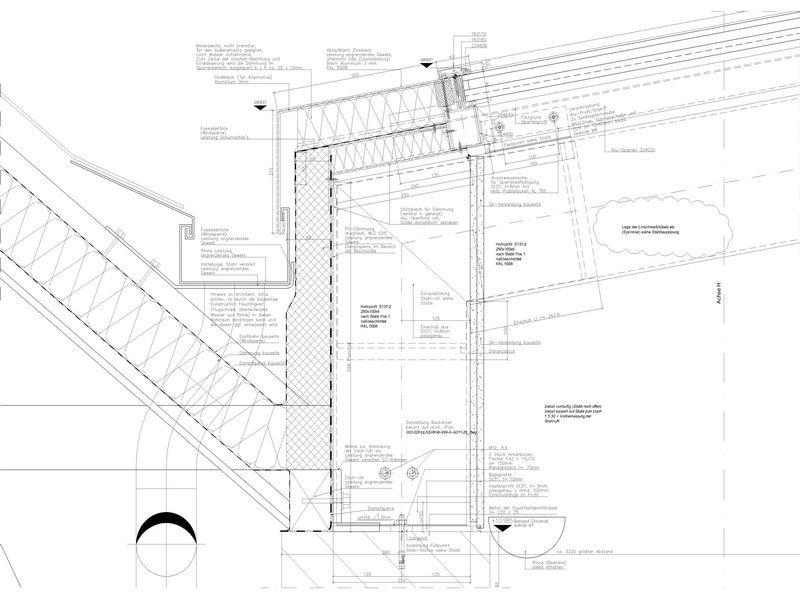 800x600 Cad Detail Gutter Details Detail, Architecture