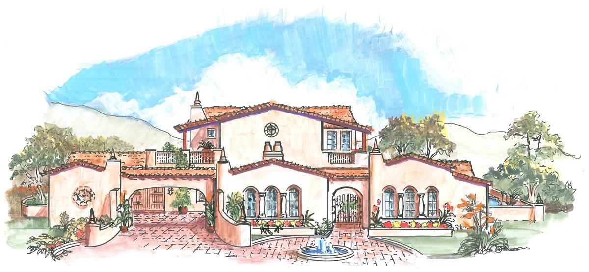 1200x556 Hacienda Style Home Plans Unique Drawing A Home Plan Unique Draw