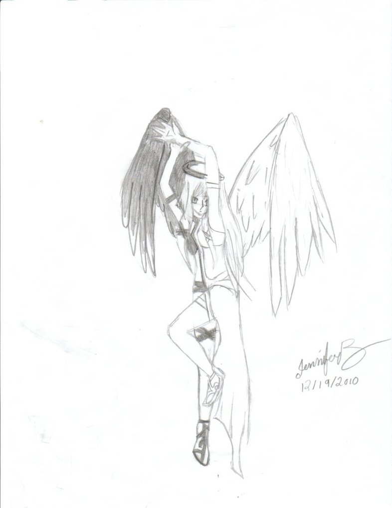 786x1017 Images Of Angel And Devil Love Drawing