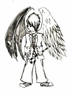 251x333 Half Demon Half Angel By Bctlo