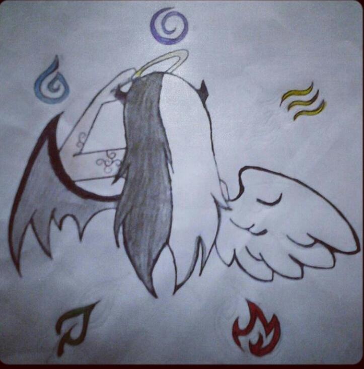 723x733 Half Angel Half Devil By Kkwolfie123