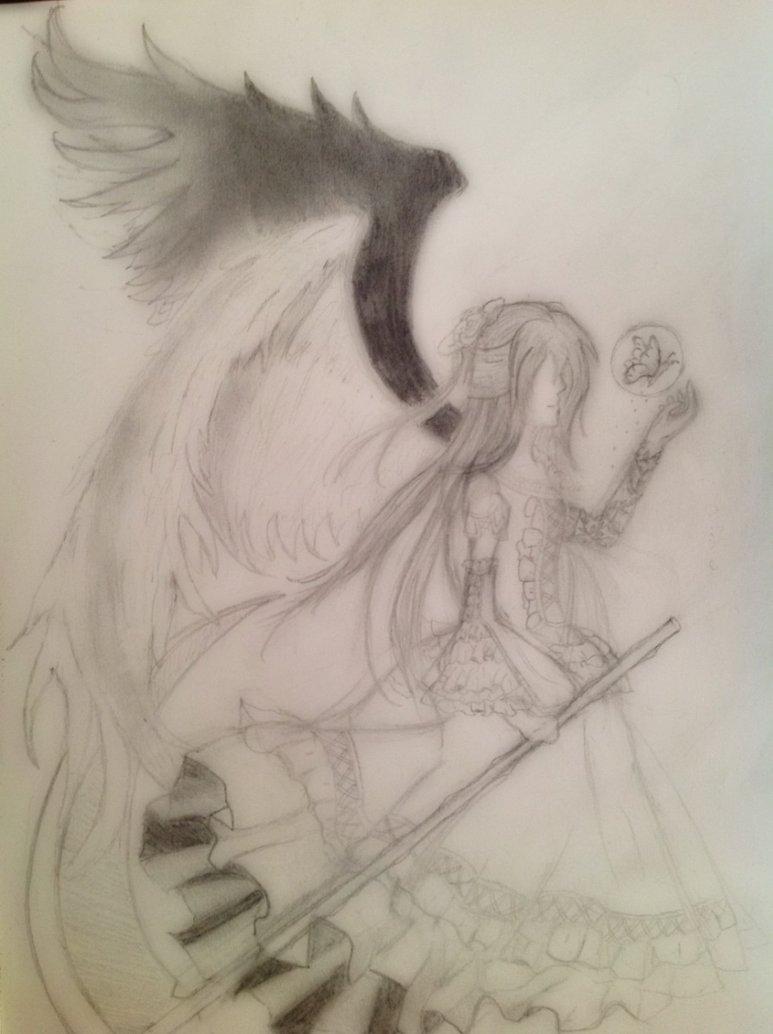 773x1034 Half Angel, Half Devil By Zrose1996