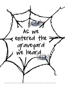 262x350 Halloween Activities Free Halloween Writing Prompts Spooky Story
