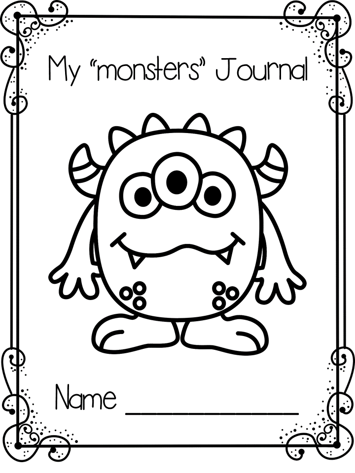 720x960 Monster Themed Journal Prompts And Story Starters (Perfect