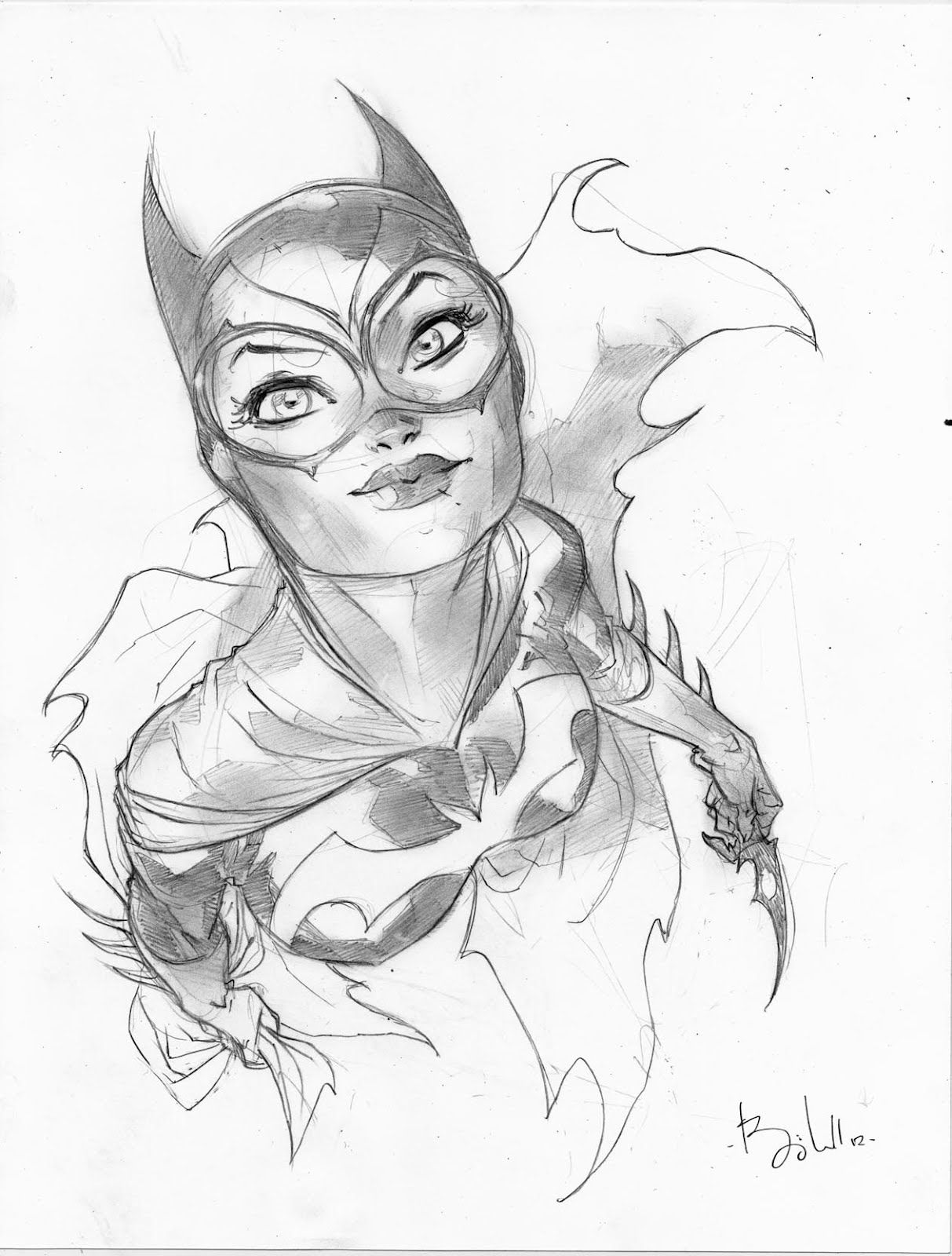 1213x1600 Tumblr Ben Caldwell Batgirl, Comic And Batman