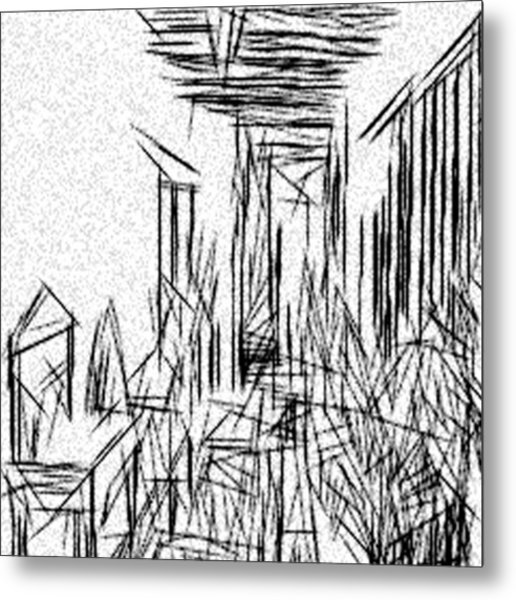 516x600 Hallway Of Distortion Drawing By Jonathan Harnisch