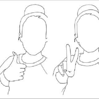 320x320 Pdf) Hand Signs For Lip Syncing The Emergence