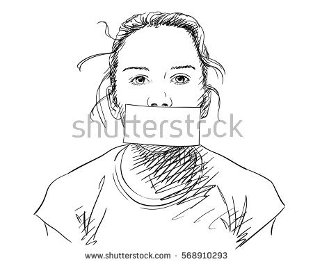 450x380 Collection Of Hand With Mouth Drawing High Quality, Free
