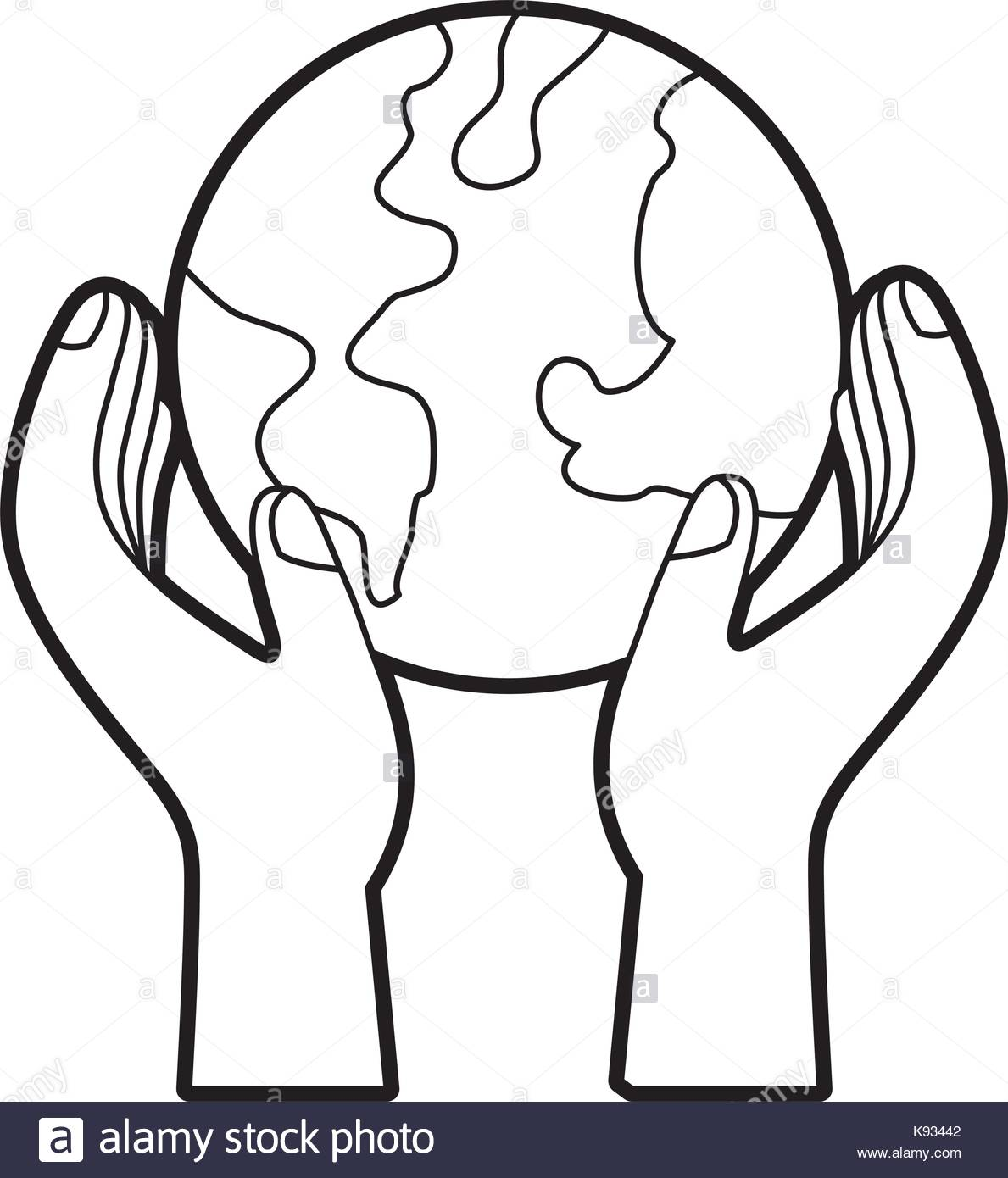 1189x1390 Hands Holding Planet Earth Ecological Environmental Concept Stock