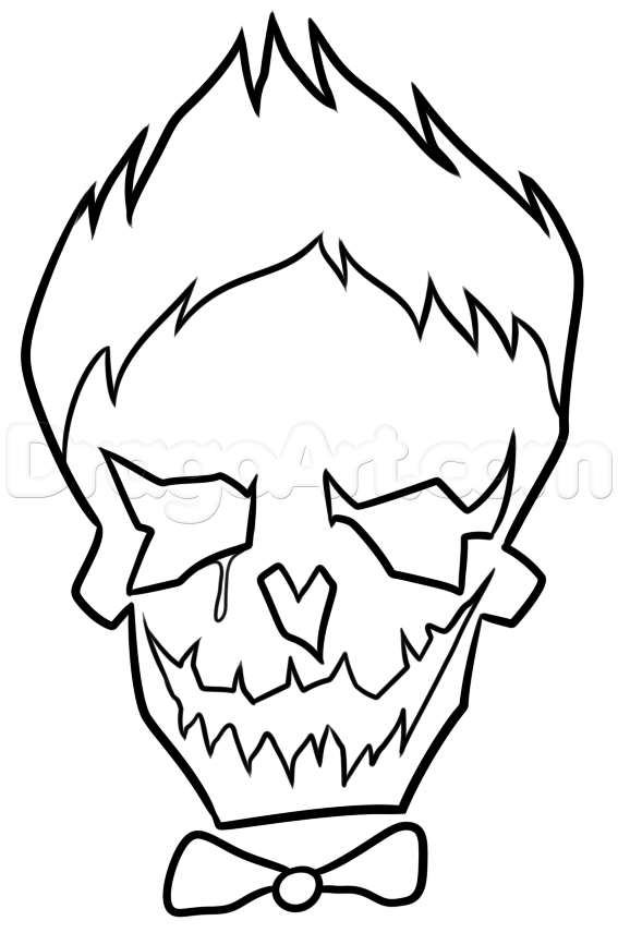 567x867 The Joker Coloring Pages Luxury Cute Joker Drawing