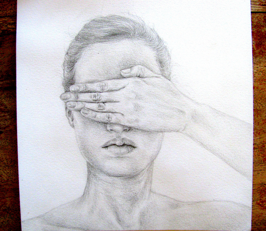 1024x889 Collection Of Hand Over Mouth Drawing High Quality, Free
