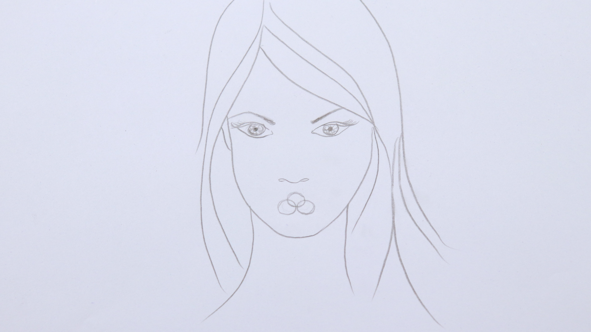 1920x1080 How To Draw Lips 13 Steps (With Pictures)