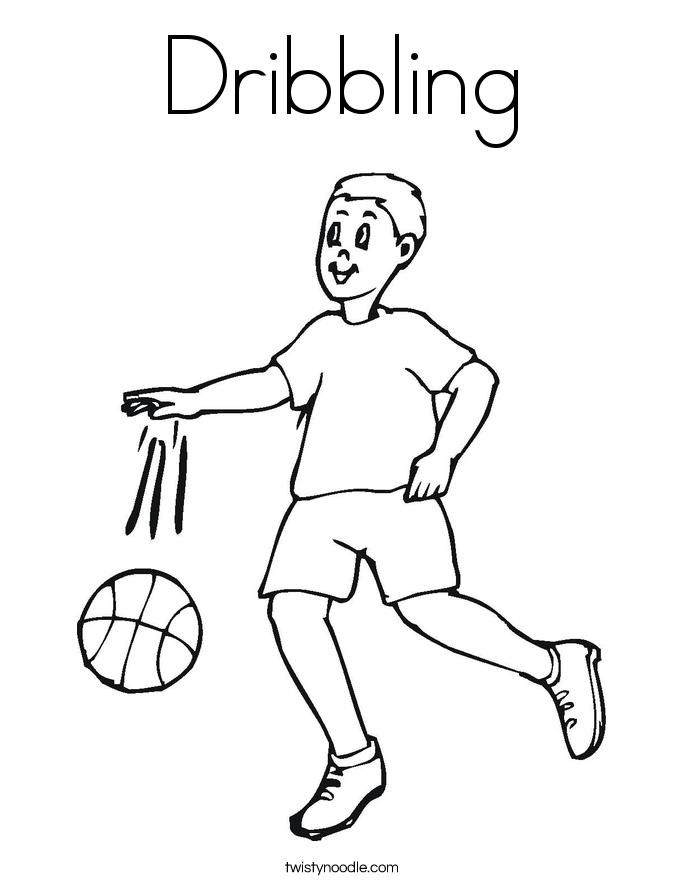 Handball Drawing At GetDrawings