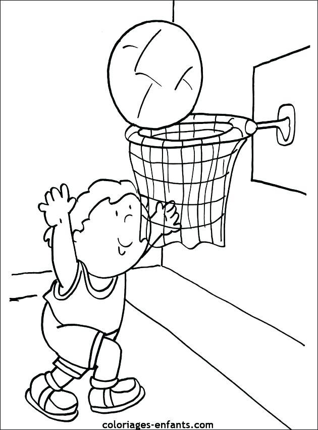 630x850 Coloriage Handball Bsket Coloriage Ballon Handbsket