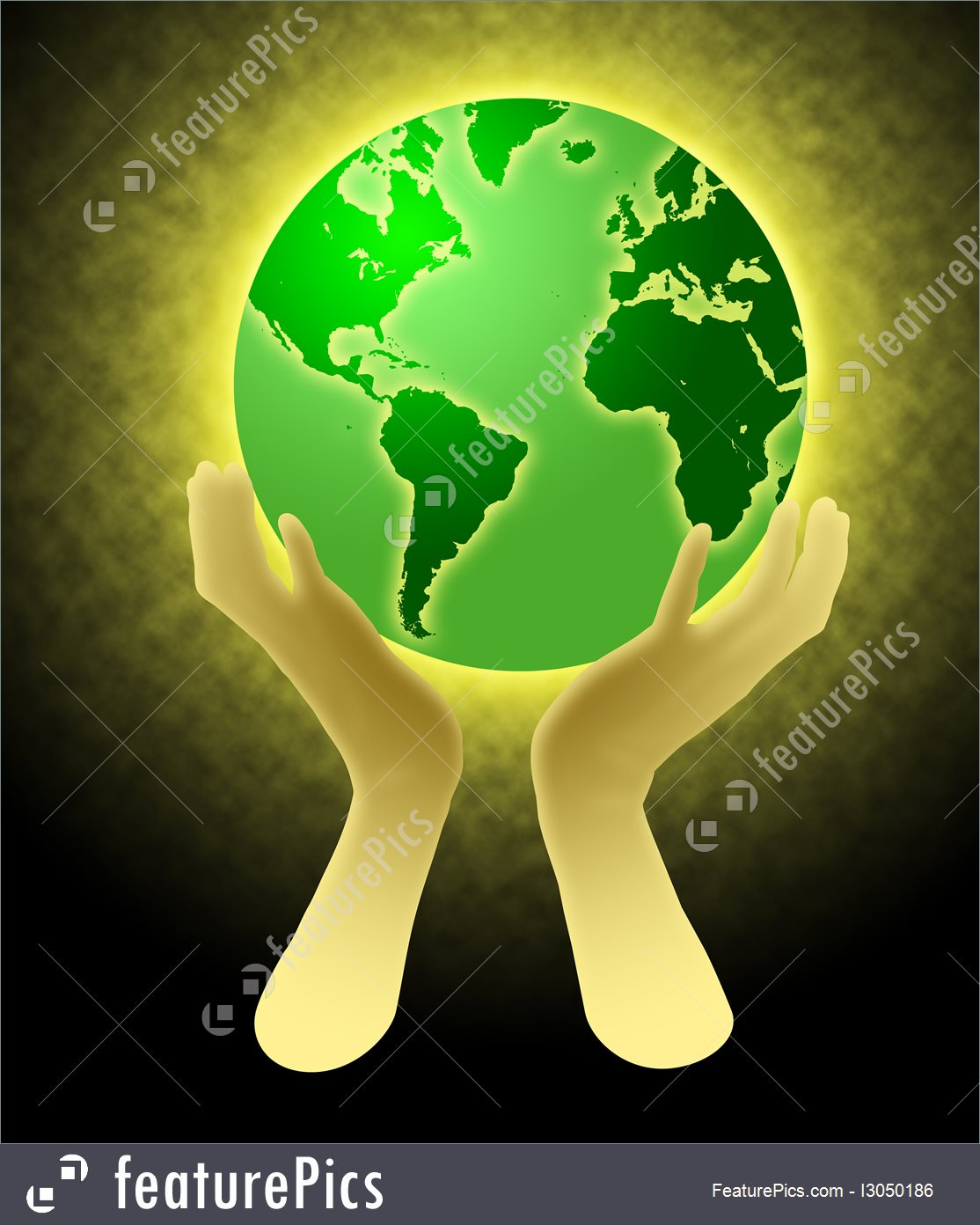1114x1392 Hands Holding World Globe Illustration