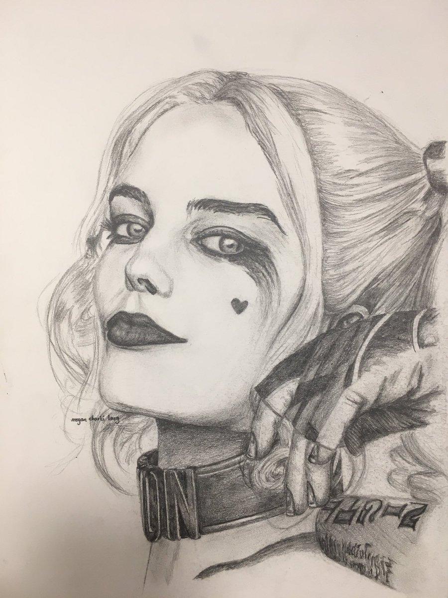 Harley Quinn Drawing: Harley Quinn Face Drawing At GetDrawings