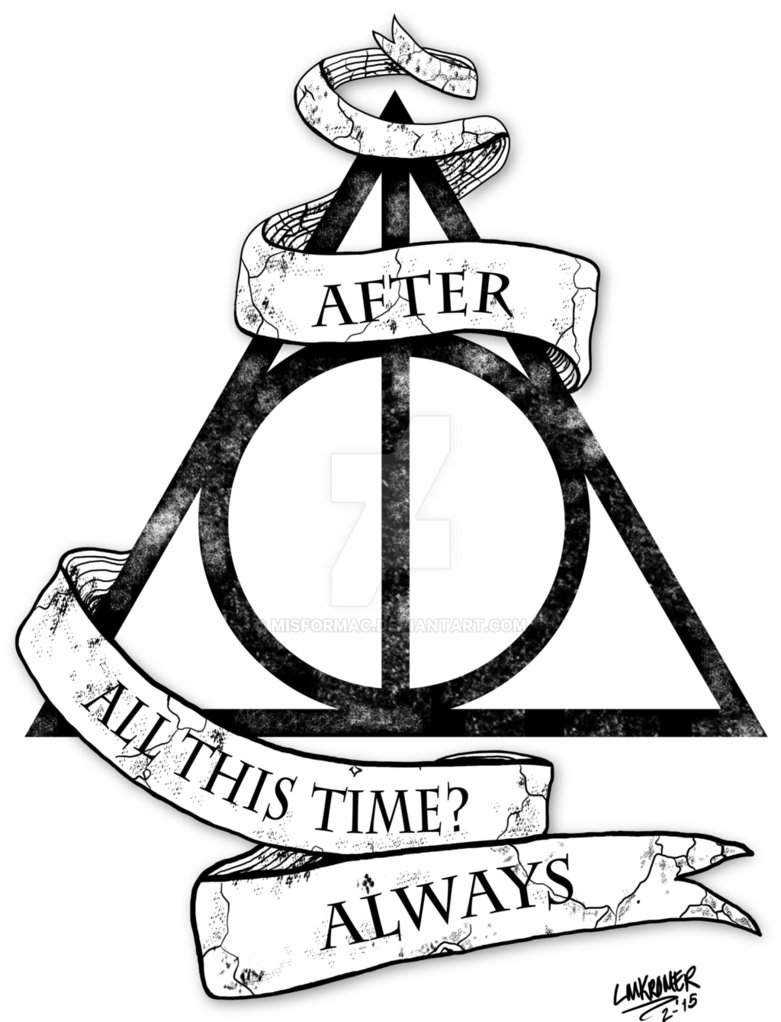 781x1022 Harry Potter Deathly Hallows Tattoo Design By Misformac