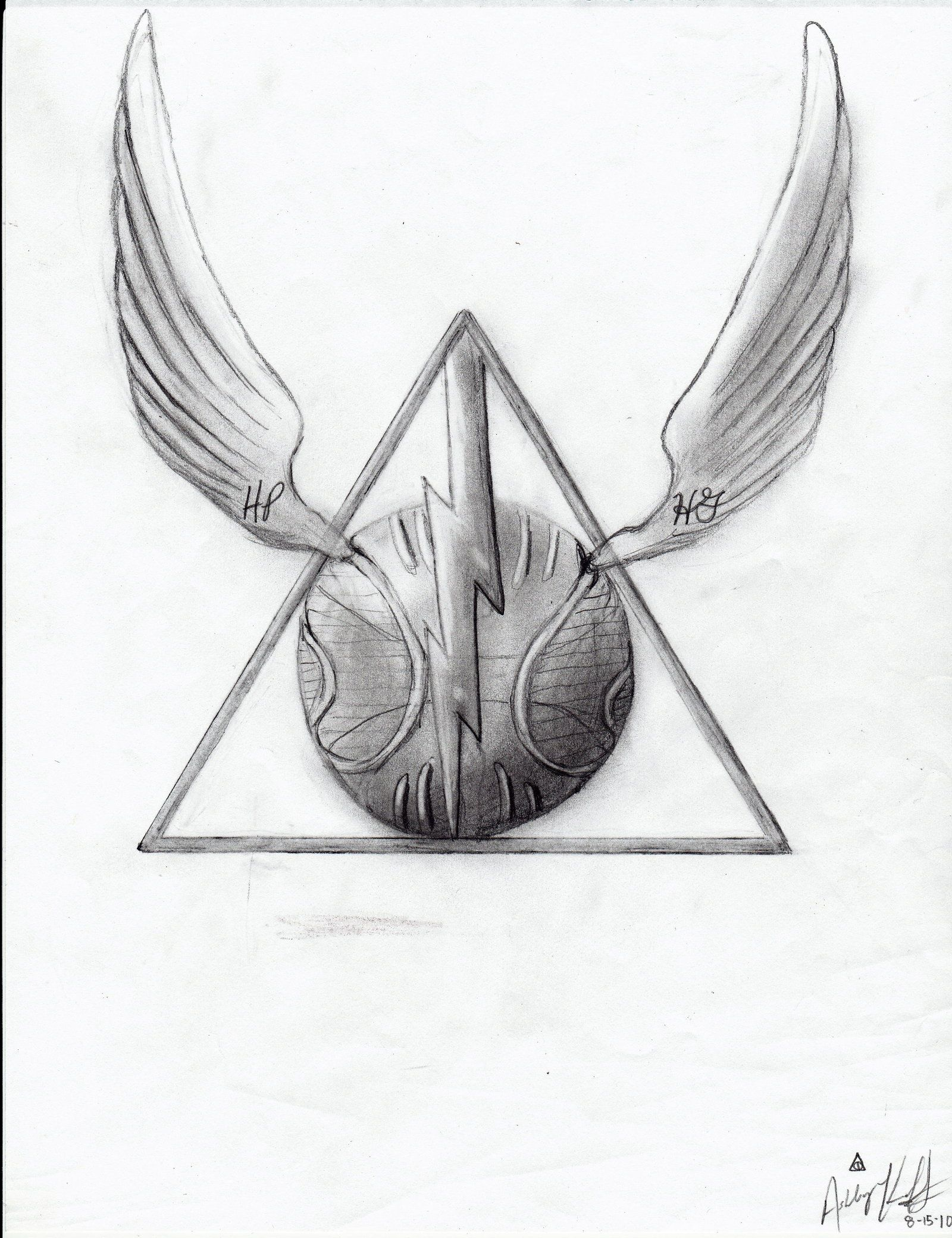 1600x2079 Harry Potter Deathly Hallows By