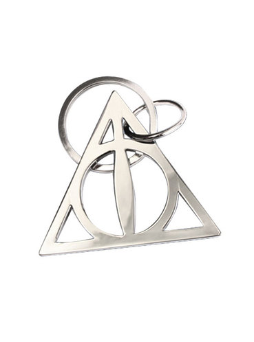 369x498 The Deathly Hallows Keyring Harry Potter For True Fans Funidelia