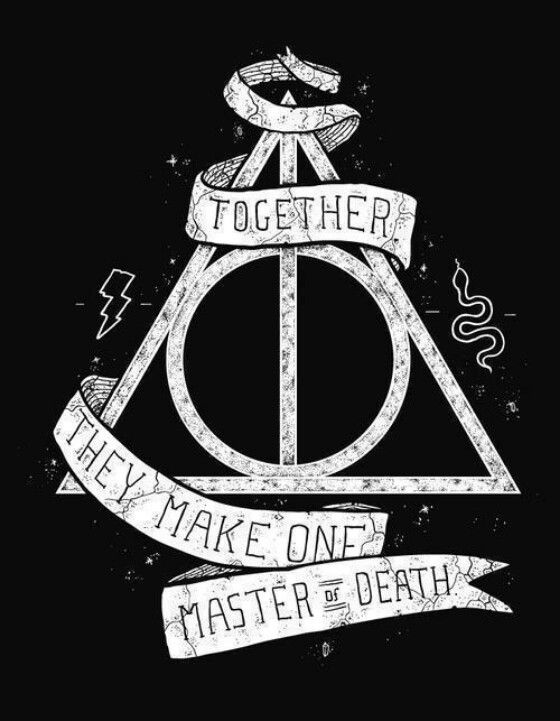 560x721 Hp Challenge Day 10 Pick One Horcruxes Or Hallows Hallows All