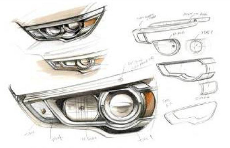 Headlight Drawing At Getdrawings Com Free For Personal Use