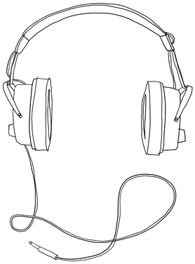 278x376 Collection Of Headphones Drawing Png High Quality, Free