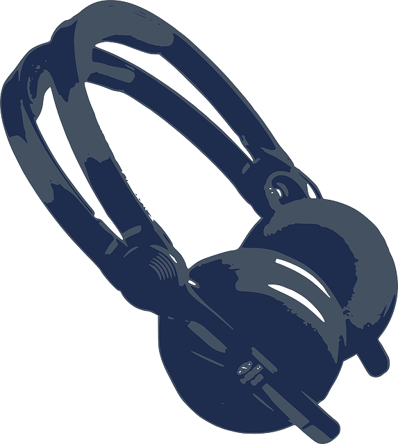 573x640 Drawn Headphones Transparent