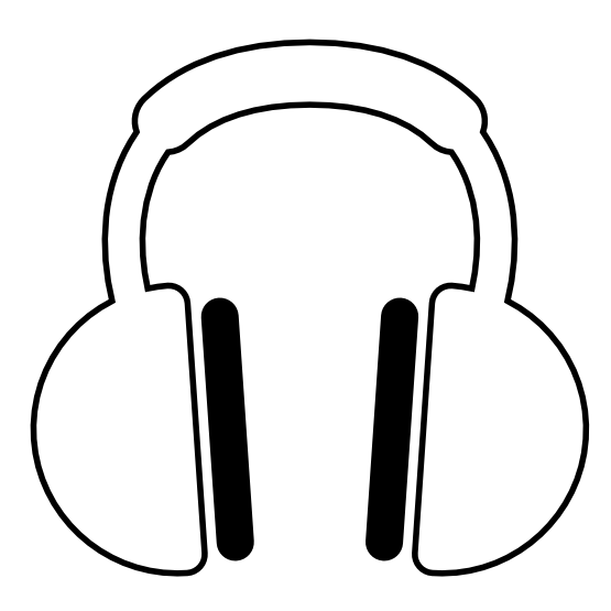 555x555 Headphone Clipart Equality