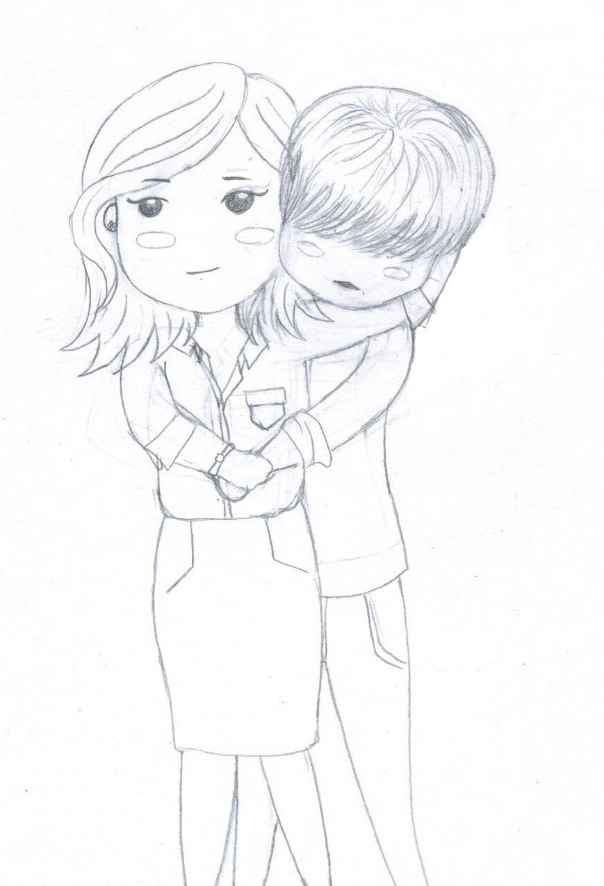 869x1275 I Hear Your Voice 1 (Sketch) By Artsygurl97