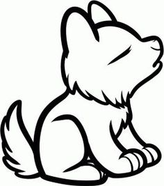236x267 Anime Wolf Pup Easy
