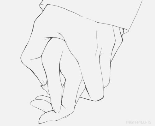 500x407 Gallery Anime Holding Hands Drawing,