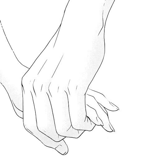 499x519 Draw A Couple Holding Hands Tumblr