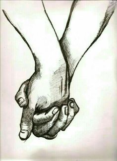 236x325 Couple Holding Hands Drawings Tumblr Art Amp Diy
