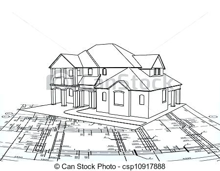 450x349 Drawings Of A House House Sketch House Drawing Interior Design