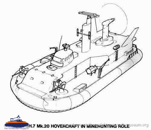 Hovercraft Drawing