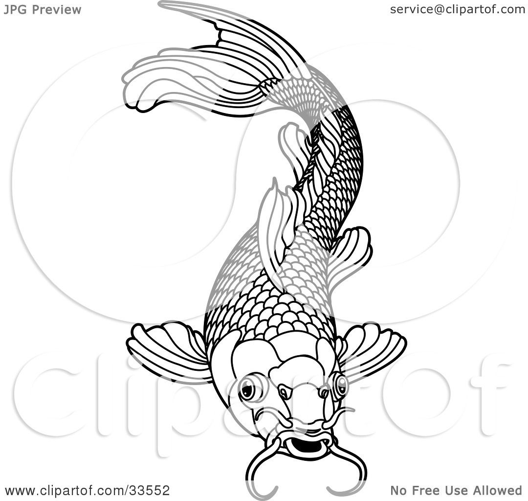 1080x1024 How To Draw Koi Scales Koi Clipart Fish Scale