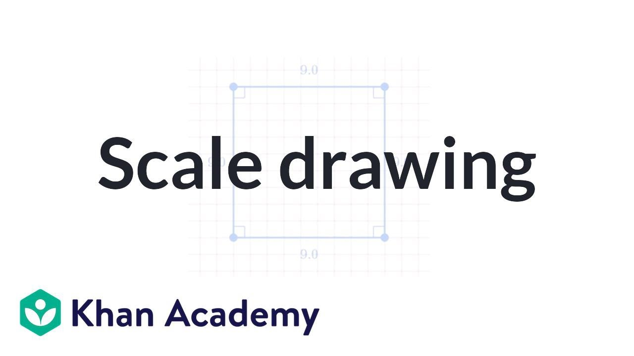 1280x720 How To Make A Scale Drawing 7th Grade Khan Academy