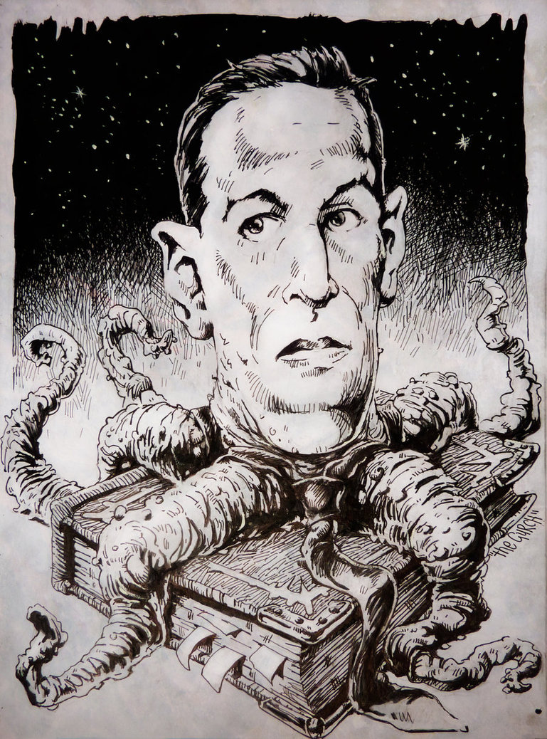 Hp Lovecraft Drawing at GetDrawings com | Free for personal