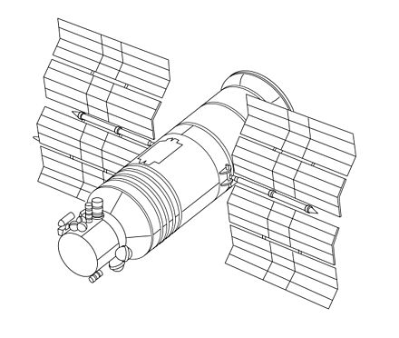 Hubble Space Telescope Drawing At Getdrawings Com