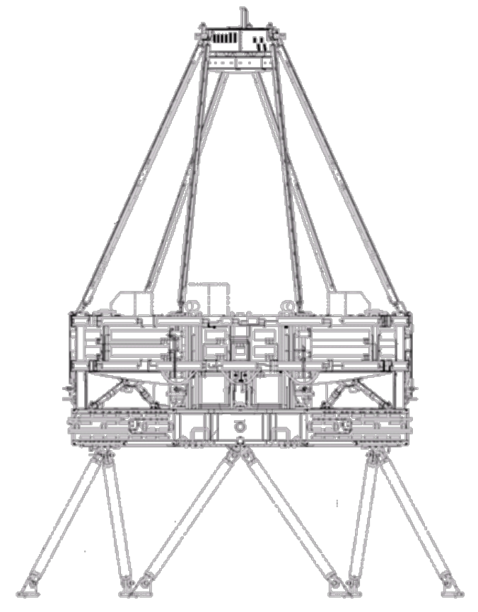 676x865 A Schematic Of One Of The Delivered Telescope Assemblies